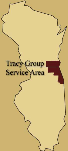 Tracy Group Service Area